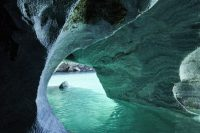 Welcome to the marble caves in Chile